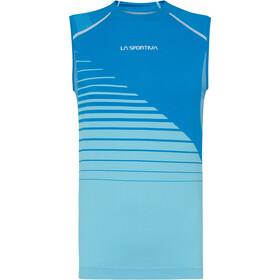 La Sportiva Runner Tank Women, neptune/pacific blue